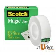 Scotch Magic Tape 810 18mm x 32.9m