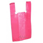 "Plastic Bag With Handle 15"" x 15"""