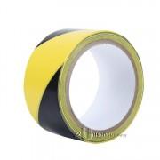 Hazard Tape 48mm Black & Yellow