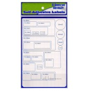 Self Adhensive Labels 25mm x 85mm