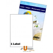 Abba Laserjet Label 200mm x 289mm A4