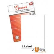 Vinmark Laserjet Label 210mm x 297mm A4