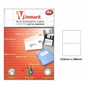 Vinmark Laserjet Label 210mm x 148mm A4