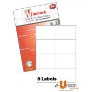 Vinmark Laserjet Label 105mm x 74.25mm A4