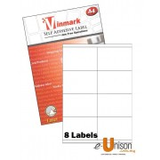 Vinmark Laserjet Label 105mm x 70mm A4