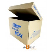 Corrugated File Box With Cover A3