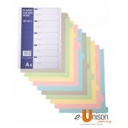 CBE PP Colour Index Divider 10 Tabs