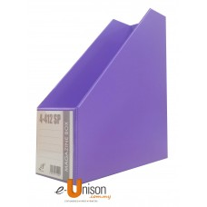 "PVC Magazine Box File 4"" (Fancy Colours)"