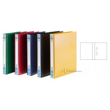 PVC 2D Ring File 25mm A4 Colour