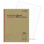 Soft Cover Exercise Book 200pgs