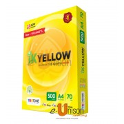 IK Yellow Multi Purpose Paper A4 70gsm 500's (box of 5 reams)