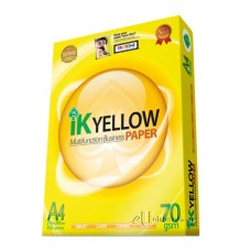 IK Yellow Multi Purpose Paper A4 70gsm 450's (box of 10 reams)