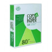 Copy & Laser Copier Paper A4 80gsm 500's (box of 5 reams)
