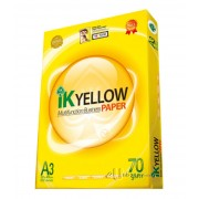 IK Yellow Multi Purpose Paper A3 70gsm
