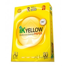 IK Yellow Multi Purpose Paper A3 80gsm