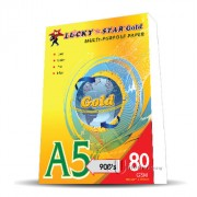 Lucky Star Multi Purpose Paper A5 80gms