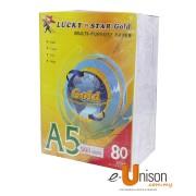 Lucky Star Multi Purpose Paper A5 80gms