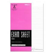 Exam Sheet F4 Double