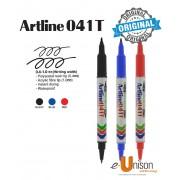 Artline Permanent Twin Marker 041T
