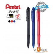 Pentel Ifeel-It Retractable Ballpoint Pen 1.0mm