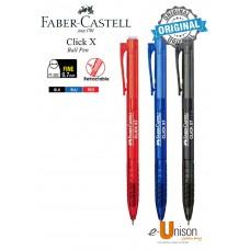 Faber-Castell Click X7 Retractable Ball Pen 0.7mm