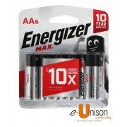 Energizer Battery AA 6's