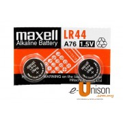 Maxell Battery A76/LR44 2's