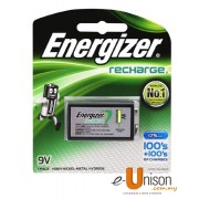 Energizer Recharge Battery 175mAh 9V