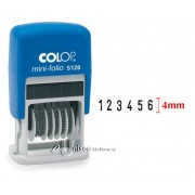 Colop S126 6 Digit Self Inking Numberer Stamp