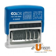 Colop S120WD Dial a Phrase Self Inking Dater Stamp